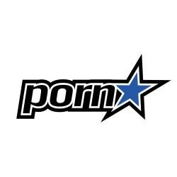 Pornstar Clothing Logo Sticker